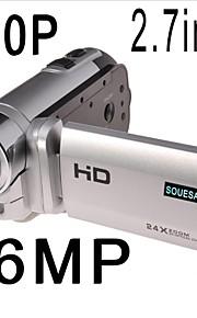 "souesa 2.7 ""LCD 24x zoom hd 720p digitale videokamera kamera dv DVR ny"