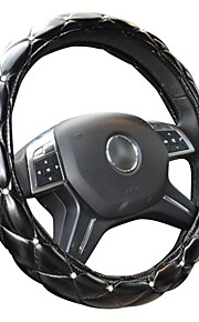 HONORV™ KA-F5 Steering Wheel Cover with Imitation Crystal Environmental Protection Rubber