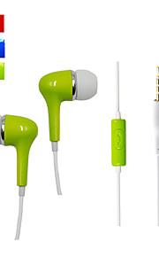 WD010 - Hoofdtelefoons - Bedraad - Oordopjes (in-oor) - met met microfoon - voor Mediaspeler/tablet/Mobiele telefoon/Computer -
