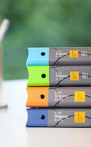 תיקיית נייר אופנה העסקית A4 30 דפים קוריאני (צבע אקראי)