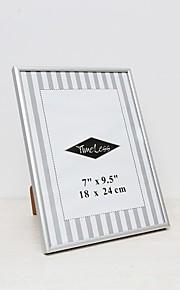 "7 ""x9.5"" moderne / nutidig rektangulære akryl / aluminium billedrammer"