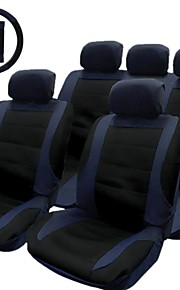 tirol nueva cubierta de asiento de coche negro 14pcs azules / set asiento de seguridad cubiertas anteriores conjunto universal