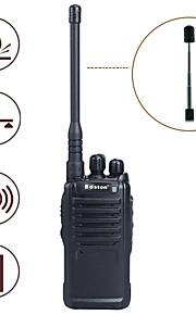 baiston bst-3200 5w 16-ch 400 ~ 470MHz professionele walkie talkie w / zaklamp, vox - zwart