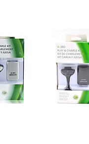 4800 mah Genopladeligt batteri med USB Power ladekabel til xbox360 trådløs game controller