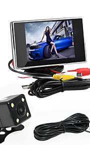 renepai® 3,5 inch monitor + 170 ° hd auto achteruitrijcamera + high-definition groothoek waterdicht CMOS-camera