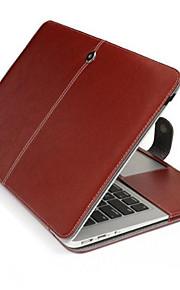 """Apple MacBook Air 13-tum fall folio fall flip fall pu läderfodral hårt fallet för MacBook Air 13 """"(blandade färger)"""