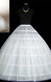 Déshabillés ( Filet de tulle , Blanc ) - Robe de soirée longue - 3 - 96cm-98cm