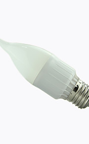 1 stk. 8A Lighting E26/E27 3 W 15 SMD 2835 300 LM Varm hvit/Kjølig hvit A Dekorativ Lysestakepære AC 85-265 V