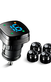 Steelmate diy TPMS tp-76b externe sensor draadloze bandenspanningscontrolesysteem geleid sigarettenaansteker met barmeubel