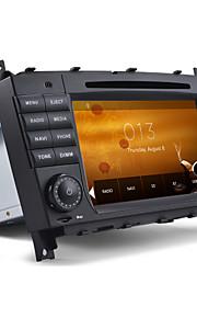 2 din auto dvd-speler autoradio voor Mercedes CLC CLK C-klasse met gps kaart ondersteuning 1080p video