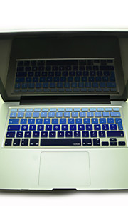 """coosbo® kleurrijke Franse azerty siliconen toetsenbord huid van de dekking voor imac g6 13 """"/ 15"""" / 17 """"MacBook Air pro / retina"""