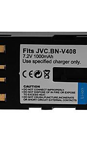 1000mAh camera batterij voor JVC BN-V408