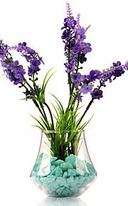 tabellen center glass hage fornøyelses vaser bord deocrations (sand ikke inkludert, blomster ikke inkludert)