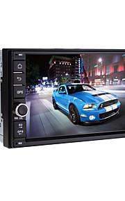 7 tommer - Bil DVD-afspiller - 2 Din - 1024 x 600