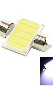 LED - Bil/SUV/Police Car - Læselampe/Nummerpladelys Lampe/Dørlampe/Arbejdslys/Dekorativ lampe ( Cold White , 6000K )