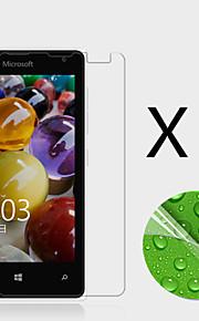 (3 st) högupplösta skärmskydd flim för microsoft Lumia 435
