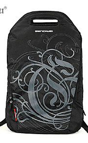 "sendiwei s-206 waterdicht nylon ongedwongen 15,6 ""laptop tas reizen een rits rugzak"