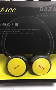 stijlvolle sport oplaadbare MP3-speler headset w / fm / TF - zwart (3.5mm jack)