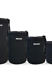 mengs® 1 pakje van 4 maten (SML XL) lens pouch voor Canon / Nikon / Olympus / Panasonic / Pentax / Samsung / Sony etc.