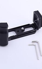 quick release verticale l beugel plaat handgreep houder voor olympus omd e-m5 em5