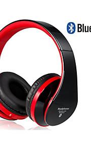 eb203 opvouwbare on-ear draadloze stereo bluetooth hoofdtelefoon met fm&TF-kaart reade