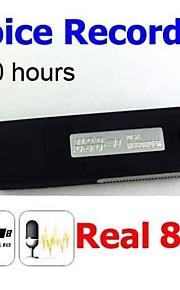 ur08 8gb (100% echte 8G) usb pen flash drive disk digitale audio voice recorder oplaadbare