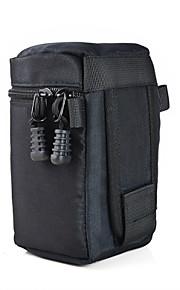 mengs® FY-2 gevoerde cameralens zak (120 x 160mm) met lens zakken geval etui voor Canon / Nikon / Sony camera