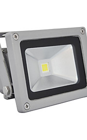 10W LED-projektører 1 Integreret LED 800 lm Kold hvid Vandtæt AC 85-265 V 1 stk.