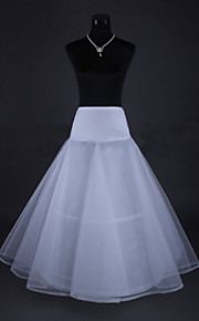 Déshabillés ( Filet de tulle , Blanc ) - Robe trapèze - 3 - 110