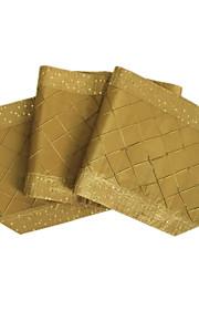 delxue pintuck лоскутное сверкают стол runne золота