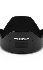 mengs® ph-RBA kronblad 52mm bajonet modlysblænde med et filter vindue for PENTAX da 18-55 mm / dal 18-55mm