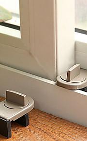 baby sikkerhet enkel installasjon skyve vindu låser (single pack)