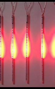 DC12V Eingang 46W 50cm lang 72pcs 5050 SMD LED Meteor regen Licht, rote Farbe 10 Stück / Set