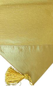 блеск стежка покрыты лоскутное с кисточкой золотой таблица бегуна