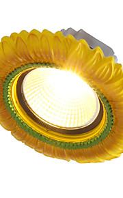 The European 1 Watt Led Living Room Ceiling Lamp Lamp Hole Diameter 6-7cm Retro Mediterranean