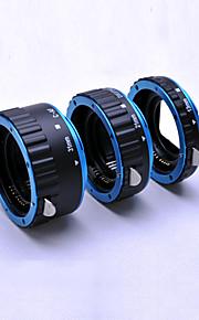 AF AUTOMATIC MACRO EXTENSION TUBE SET for CANON EOS EF EF-S DSLR Lens Close-Up