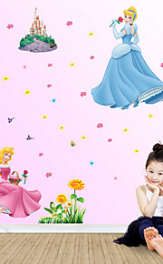 New Special Wholesale and Retail Guesthouse Background Stickers Princess Wall Stickers