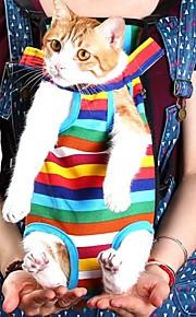 grin med pets® kæledyr rejsetaske kat bærepose til små hunde pet fem huller rygsæk foran brystet rygsæk (assorterede størrelser)