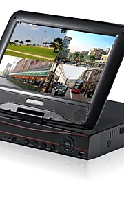 H.264 DVR/NVR System 4/8 Channel with 10.1 Inch LCD Screen