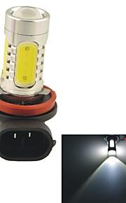 carking ™ h8 / h11 11W 5smd 660ml luce bianca 6000k lampada testa luce di nebbia guida lampadina (12V DC)