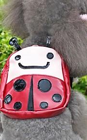grin med pets® dejlige brune ladybeetle rejse rygsæk til kæledyr hunde (assorterede størrelser)