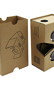 2015 DIY pap 2 virtual reality vr 3d briller til nexus 6 / iphone 6 plus + mere