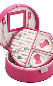 glam montre en cuir boîte à bijoux faux cadeau Rowling anneau rustique plateau de présentation de collier organisateur zg007new