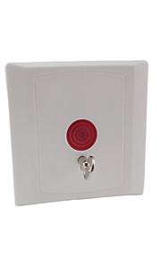 logements abs bouton de panique filaire, bouton d'appel d'urgence avec du cuivre de phosphore