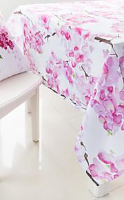 Aquarellmalerei Blumen gedruckt Tischtuch