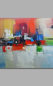 handmålade oljemålning på duk vägg konst abstrakt contempory en panel redo att hänga