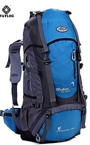 Paquetes de Mochilas de Camping/Travel Duffel ( Verde/Rojo/Negro/Azul/Naranja , 55 L)  Impermeable/Listo para vestir/Multifuncional