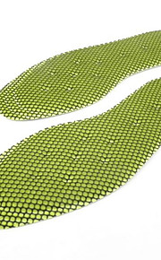 Fabric Insoles & Accessories for Insoles & Inserts Green One Pair