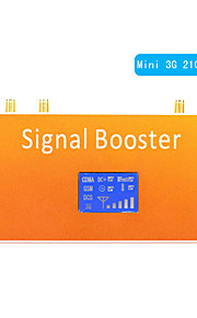 New LCD Display 3G 2100MHz Mobile Phone Signal Repeater Booster Amplifier Coverage 500m²