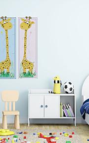 3d adesivos de parede parede adesivos de parede de estilo girafa pvc etiquetas